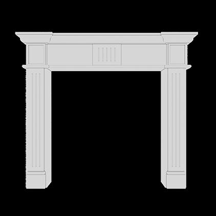 Каминный портал