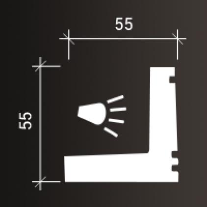 Карниз 1.50.226 гибкий